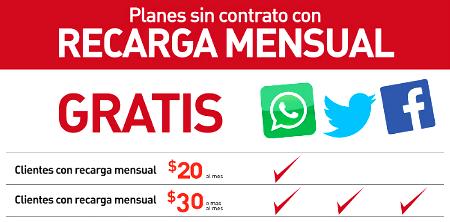 recarga free social